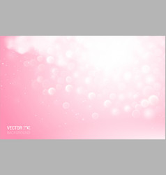 abstarct pink lights effect elements background vector image