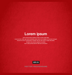 Background design texture of the old paper red vector