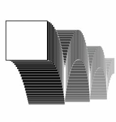 Bouncing squares vector