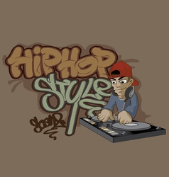 Hip hop 1 vector