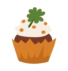 Organic cake vector