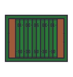 American football board vector