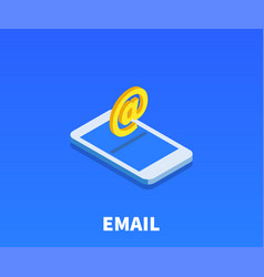 At email icon symbol vector
