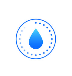 Humidity icon sign vector