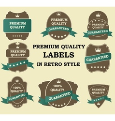 Best Seller label with red ribbon vector image