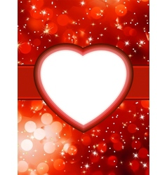 Valentines red abstract StValentines Day EPS 8 vector image
