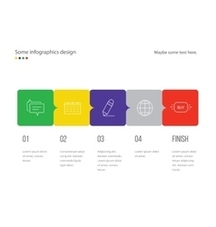 Infographic page template design Useful for vector image