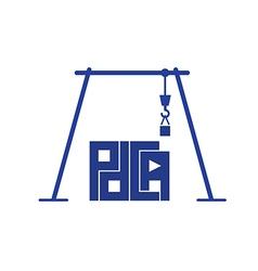 crane pdca vector image