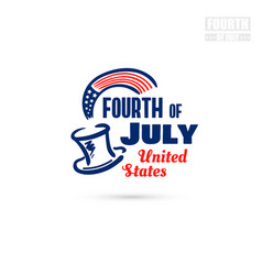 Fourth of july united states vector