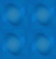 Seamless grungy raster pattern vector