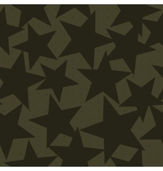 Stars shapes camouflage vector image