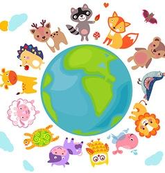 Animalsworld vector