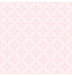 Pink seamless abstract rhombus lace pattern vector image vector image
