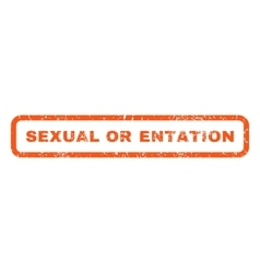 Sexual orientation rubber stamp vector