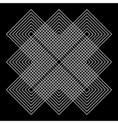 vector geometric illusions vector image vector image