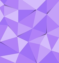 Violet polygon abstract triangle background vector image