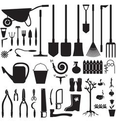 garden set vector image