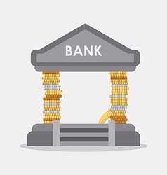 bank design vector image