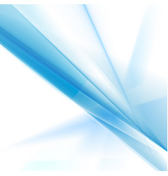 Abstract bright blue stripes gradient background vector