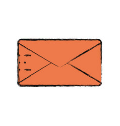 Email isolated symbol vector