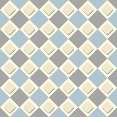 seamless checkered background A simple vector image vector image