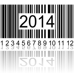 2014 on the barcode vector