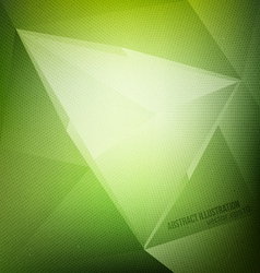 Green abstract background vector
