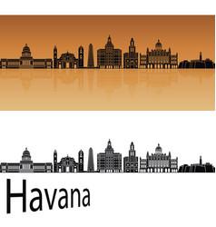 Havana v2 skyline vector