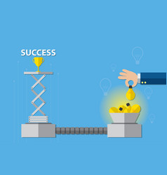 Idea and business concept vector