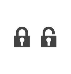 Lock logo concept design vector
