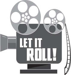 Let It Roll vector image