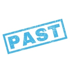 Past rubber stamp vector