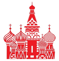 Moscow symbol red resize vector