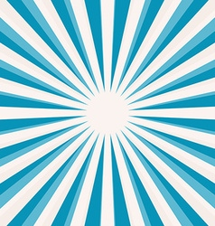 Abstract blue star shaped retro background vector