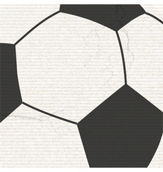 Football background with grunge vector