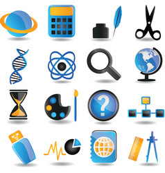 Set of education icons - part 2 vector