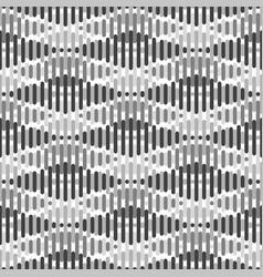 Seamless geometric pattern - rhombus background vector