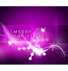 Holiday purple abstract background winter vector image vector image