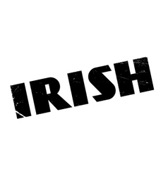 Irish rubber stamp vector