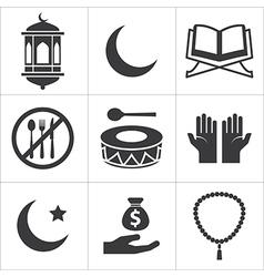Ramadan icon vector