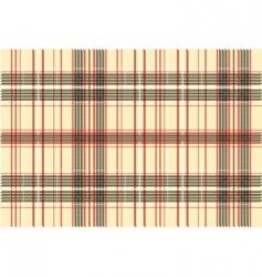 tartan fabric texture vector image vector image