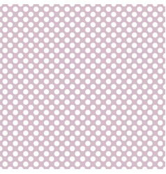 Tile pattern with white polka dots vector