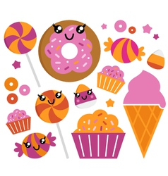sugar candy vector image
