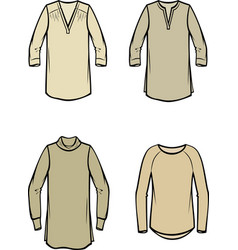 womens blouse vector image