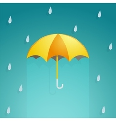 Umbrella cartoon vector