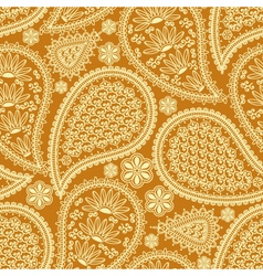 Seamless pattern in indian style vector