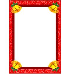 Christmas frame vector
