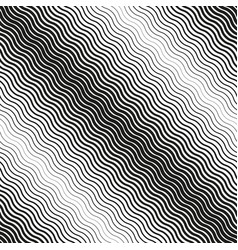 Seamless diagonal halftone background black and vector