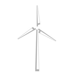 windmill energy alternative icon vector image