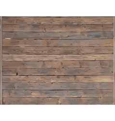 Wood plank texture vector image vector image